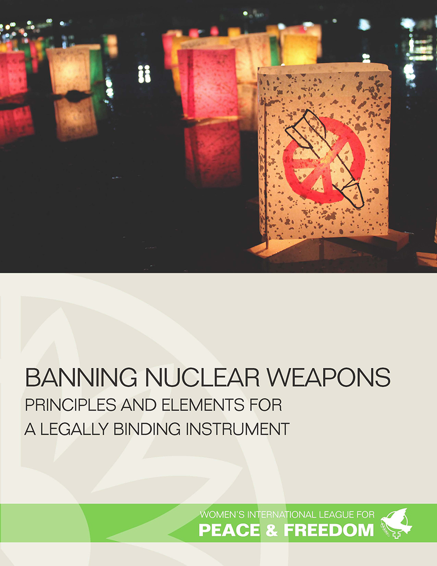 banning nuclear weapons Ican's nobel peace prize highlights the urgent need to outlaw nuclear weapons.