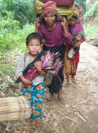 Inhabitants of Kachin, 2011