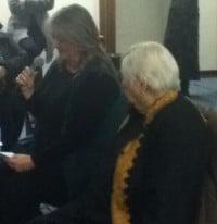 Felicity Ruby and Edith Ballantyne