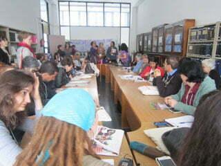 Seminar at the 2013 World Social Forum