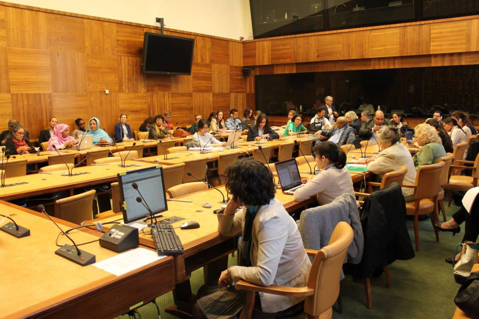Photo of the side event on forgotten conflicts