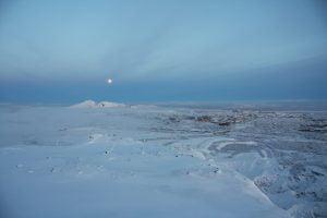 Photo of snow landskape