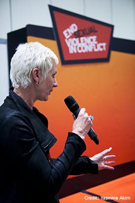 Madeleine Rees speaking