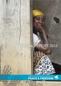 WILPF 2013 Annual Report copy