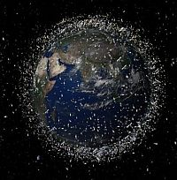 Space Debris around Earth Credit: Global Network Against Weapons and Nuclear Power in Space