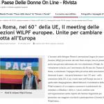 WILPF European meeting Article