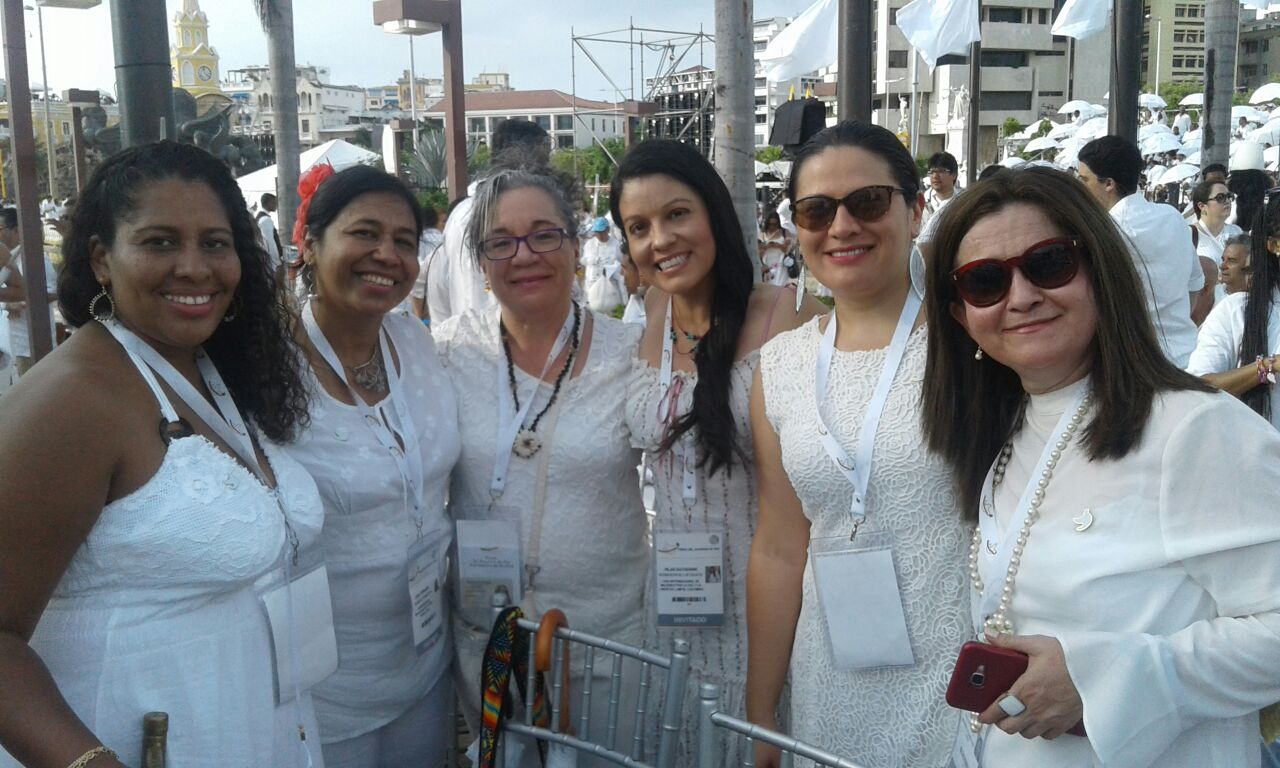 WILPF Colombia attending the historic peace agreement signing ceremony in Cartagena, Colombia, on 26 September at which Colombia's government and the FARC-EP signed the peace accord to end the bloody armed conflict that began in 1964.