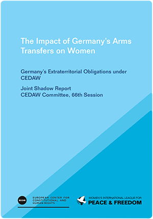 PUBCover_CEDAW Shadow Report on Germany