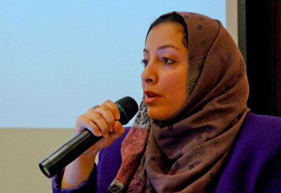 In 2016, Rasha Jarhum, a Yemeni Social policy researcher and women's rights advocate, visited the US four times to participate in discussions about bringing peace to Yemen. She talked about the devastating war in her country and the importance to include women in peacebuilding. She talked with to UN State Missions and university students, and met with fellows and peers who support her cause. Rasha Jarhum should have been part of the WILPF delegation to CSW61, but now the advocacy tour is cancelled due to the US travel ban. How is banning a person like Rasha Jarhum going to improve the security of the US?